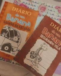 Livros diário de um banana 7 e 9