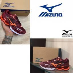 Novo lançamento original casual tênis esportivo mizuno waver confortavel caminhada