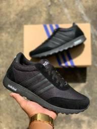Tênis Adidas Preto (Frete Gratis)