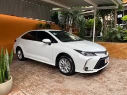 Novo Toyota Corolla GLi 2.0 automático 2021 com 14.000 Km, estado de zero, financiamos!