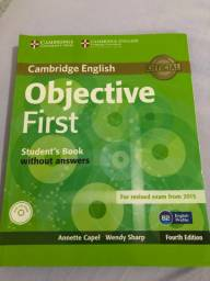 Objective First Students book