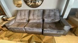 Sofá retrátil e reclinável de 2.90 metros