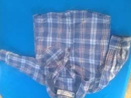 Camisa infantil tamanho 3/6 meses