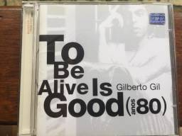 CD To Be Alive Is Good (anos 80) - Gilberto Gil