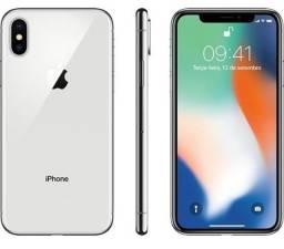 IPhone X 64 GB Prateado em Estado de Novo