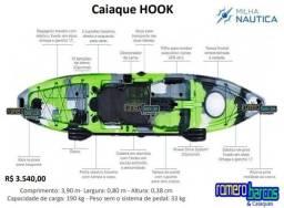 Caiaque Hook individual da Milha Náutica