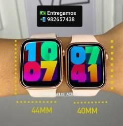 Iwo 13 Pro tela Infinita ,Prova D'água,aceita foto de fundo. Smartwatch completo.<br>