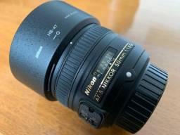 Lente Nikon 50 mm AF-S f/1.8