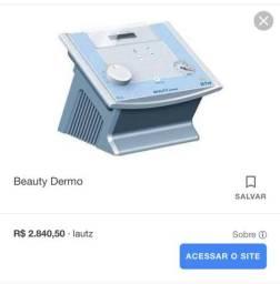 Vácuo Endermo + caneta peeling de diamante