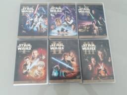 Coleção 6 DVDs Star Wars - Original George Lucas