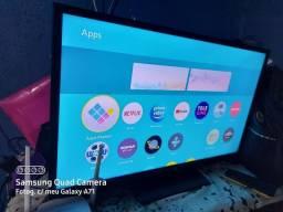 """Smart tv Panasonic 32"""" troco por celular bom"""