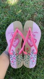 Sandálias dia das mães