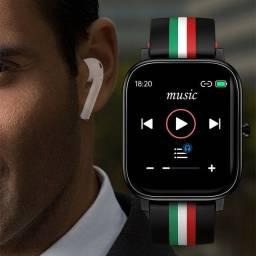 R$ 265 Relogio Smartwatch 4gb Colmi P12 Caixa Com 44mm Tela 1.4 Pol - Nazaré da Mata-PE
