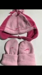Conjunto de luvas e touca menina 1-3 anos Nike Original