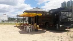 Ônibus Volvo 3 portas B58 12mts int, para Food Truck