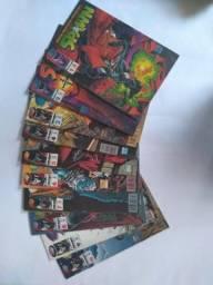 Coleção gibis Spawn 102 revistas