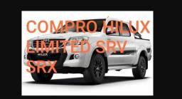 Toyota Hilux limited 2014/2015 branca - preta