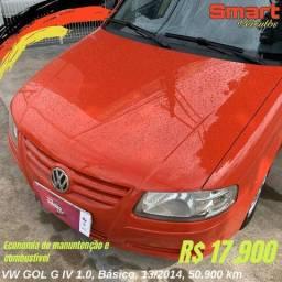 VW GOL G IV 1.0, Básico, 13/2014, 50.900 km - 2014