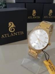 Relógio feminino Atlantis gold