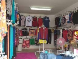 Passo loja completa de roupas unissex