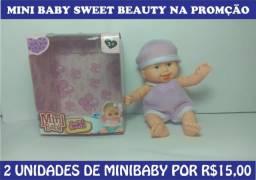 Kit 2 Mini Babys por R$15,00