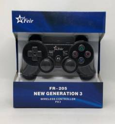 Controle Joystick PlayStation 3 Sem Fio Feir Novo na Caixa