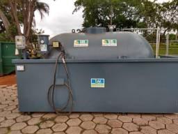 Tanque Combustivel 5.000 lts com Bacia e skid completo