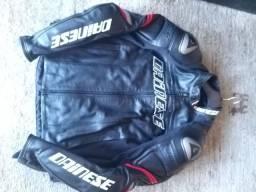 Jaqueta de couro Dainese Racing 3D