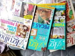Revistas de bordado Ponto Cruz