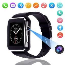 Relógio Smartwatch X6 Chip Camera Android Smartband