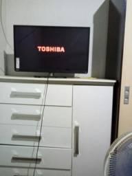Tv smart Toshiba 32plgds troco por outra e uma volta em dinheiro
