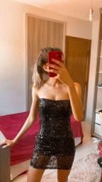 Vestido de lantejoula