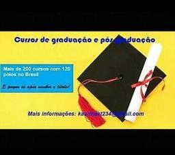 Cursos de graduação totalmente online-