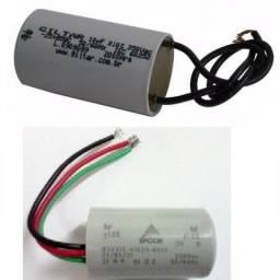 Capacitor Para Ventilador De Teto 2 ou 3 Fios 250 volts