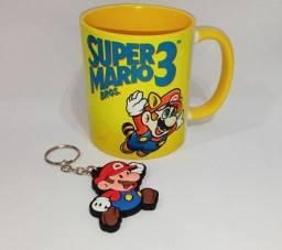 Caneca de cerâmica super Mario 3