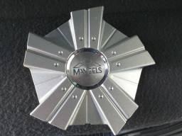 Emblema Mangels Tampinha da roda original kit com 3