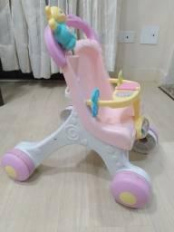 Andador - Meu Primeiro carrinho de bebê Fisher-Price