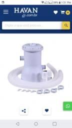Vendo piscina inflavel + bomba com filtro