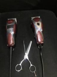Máquina de cortar cabelo wahl magic clip