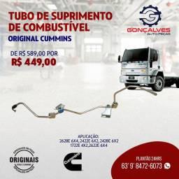TUBO DE SUPRIMENTOS DE COMBUSTÍVEL ORIGINAL CUMMINS