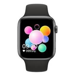 U78 Plus IWO 44mm Smartwatch Série 5 Freqüência Cardíaca Temperatura Corporal
