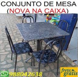 Mega Promoção de Conjunto de Mesa 4 cadeiras Nova Com Entrega e Montagem Gratis!!