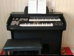 Tokai D2 Preto Fosco - Órgão Eletrônico