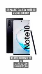 Samsung Note 10 256gb Top Top Zero com Nota e Caixa sem uso