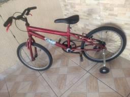 Bicicleta infantil aro 20 com ou sem rodinhas é o mesmo preço
