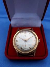 Relógio Cyma Ouro 18K Cymaflex antigo, década de 60