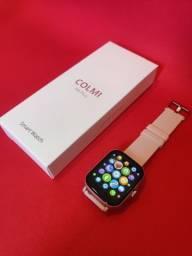 Lançamento Relógio/Smartwatch Colmi P8 Plus > Cor Disponivel: Rosa / Azul / Dourado