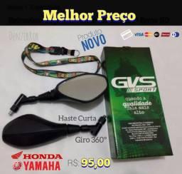 Retrovisor GVS BMW f800 com giro GVS BMW f800 360 chaveiro Grátis  codLT2