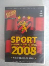 DVD copa do Brasil Sport 2008