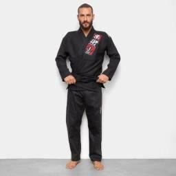 Kimono Jiu Jitsu Jiu-Jitsu Naja Reforçado Super Leve Adulto Somos Loja